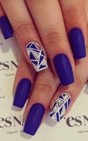 royal blue nail designs gallery nail art designs