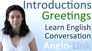 introductions u0026 greetings learn english conversation youtube