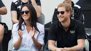 meghan markle and prince harry make first public appearance at the