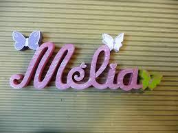 prenom en bois pour chambre lettres attachées papillon prénoms en bois décoration chambre