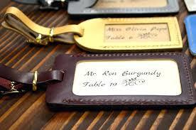 luggage tag wedding favors wedding luggage tag favors leather luggage tags wedding favor