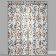the naya collection white cotton crinkle tie top window curtains