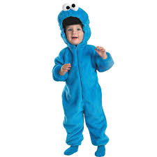 newborn boy halloween costumes sesame street cookie monster infant toddler costume