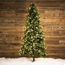 shop ge 7 5 ft pre lit colorado spruce artificial tree