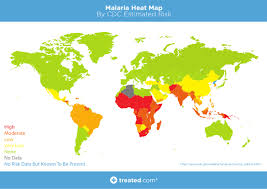 Mali World Map by Our Malaria World Map Of Estimated Risk
