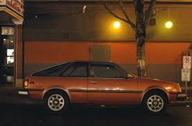 nissan pulsar 1982 old parked cars 1982 datsun nissan sentra hatchback