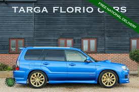 blue subaru forester used 2005 subaru forester full time awd for sale in chichester