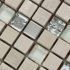 Stone Glass Tile Backsplash by Stone Glass Tile Natural Stone Mosaic Tiles Plated Glass Tile