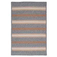 Diy Outdoor Rug With Fabric Braided Area Rugs Rugs The Home Depot