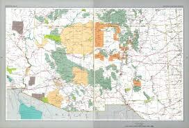 Map Of Utah And Arizona Arizona New Mexico Map