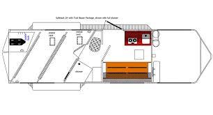 horse trailer living quarter floor plans trail blazer 2 horse trailer with living quarters for sale