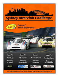Armchair Racing Sydney Interclub Challenge 2017 Auslot Forums