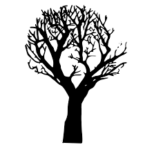 tree free stock photo illustration of a silhouette of a tree