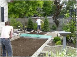 Backyards  Ergonomic Back Yard Landscape Ideas Designing A - Designing a backyard