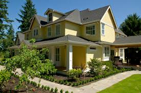 Unique House Painting Ideas by Yellow Exterior House Paint