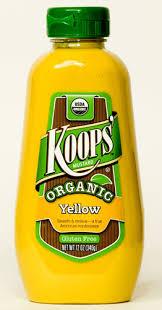 koops mustard organic mustard koops organic yellow mustard national mustard