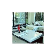 destiny modern high gloss white coffee table by vig furniture