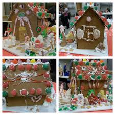 art how to build a gingerbread house from cardboard holiday