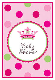 photo princess baby shower invitations image