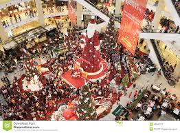 Santa Claus Christmas Tree Decorations by Big Santa Claus Christmas Tree Editorial Photo Image 48343121