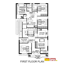 designing a house plan house plan for 40 feet by 60 feet plot with 7 bedrooms homes in