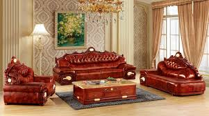 Big Leather Sofas Luxury Big European Leather Sofa Set Living Room Sofa Made In