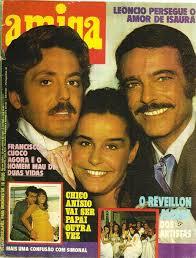Escrava Isaura 1976 - revista amiga e novelas escrava isaura tv globo 1976