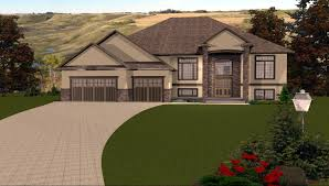 bi level house plans with attached garage house plan new split level house plans with walkout basement home