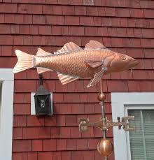 Mermaid Weathervanes Classic Cod Fish Weathervane Cape Cod Cupola