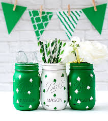 shamrock mason jars mason jar crafts love
