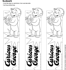 curious george coloring pages printable black white curious
