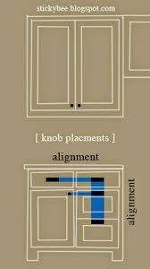 Kitchen Cabinet Door Knob Placement Kitchen Cabinet Knob Placement Kitchen Design