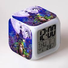 aliexpress com buy zelda digital clock square ccolor changing