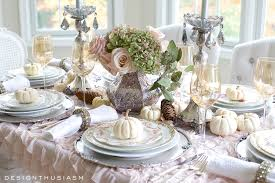 pottery barn thanksgiving a soft vintage thanksgiving table holiday entertaining blog tour