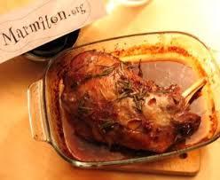 cuisiner epaule agneau epaule d agneau au romarin recette de epaule d agneau au romarin