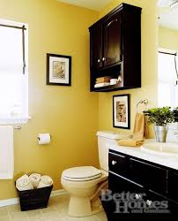 yellow bathroom decorating ideas the black with the yellow this looks about the size of our