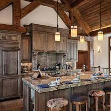 hybrid kitchen photos timber and log home kitchens and dining rooms
