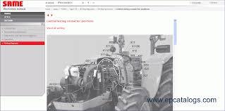 same sdf e parts repair manual heavy technics repair
