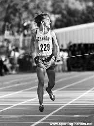 i admire steve prefontaine because of his ability to go all out