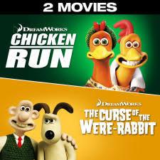 chicken run wallace u0026 gromit curse rabbit