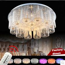 Remote Controlled Chandelier Remote Controlled Rectangle Ceiling Lights Online Remote