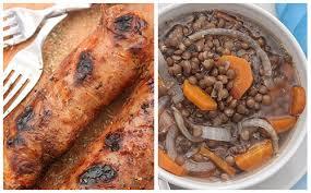 cuisiner des andouillettes andouillettes aux lentilles wecook