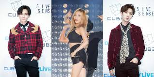 k pop js hyuna trouble maker photoshoot members of the 2nd trouble maker confirmed to be pentagon s hui e