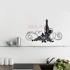 vinyl mural cuisine stickers wine drink cuisine vinyl wall decals murals