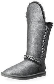womens mid calf boots australia australia luxe collective womens pistol studded bootie fog 42 m