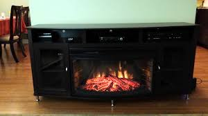 tv stand and fireplace youtube