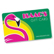 gift card sale products isaac s restaurants