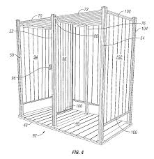 Outdoor Shower Ideas Patent Us8109044 Outdoor Shower Enclosure Kit Google Patents