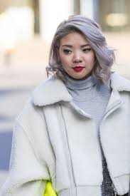 asian salt and pepper hairstyle images 40 women with beautiful middle long gray hairstyles