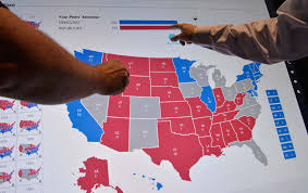 National Election Results Map by The Clinton Trump Electoral Map Looks Almost Exactly Like The